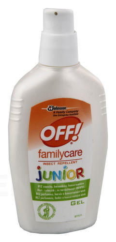 Off repelent - Family Care Junior, gel ,100ml - PO EXPIRACI 29/04-2018